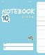 NOTEBOOK 10 (Blue)