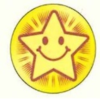 Gold Sticker (直径12mm, 250片)