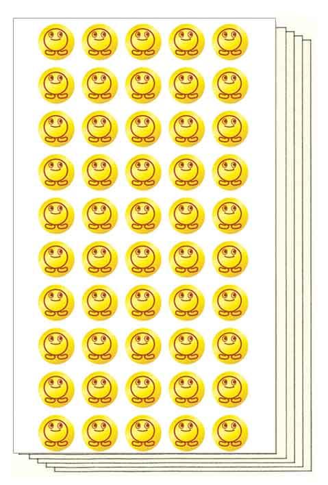 ゴールドボッパー Stickers (直径12mm, 250片)