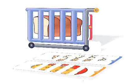 カラー教具39 No.2 What's in the Cart?