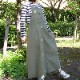 【新色追加】デニム/バックツイルジャンパースカート