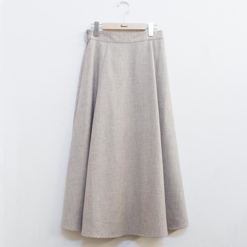 ミディ丈フレアースカート