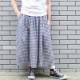 綿麻ギャザーたっぷりスカート