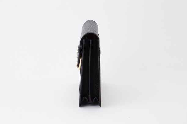 レザー バッグ 銀座タニザワ バッファローシリーズ ポーチ 27cm