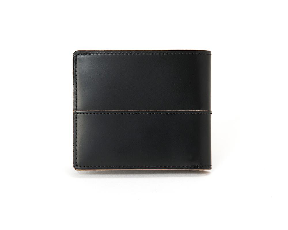 カード入れ付き二つ折り財布 コンプレックスガーデンズ 枯淡