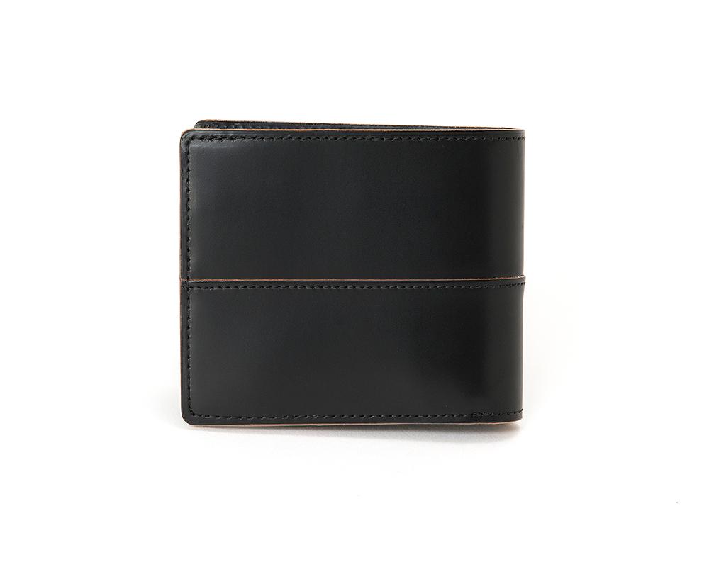 小銭入れ付き二つ折り財布 コンプレックスガーデンズ 枯淡