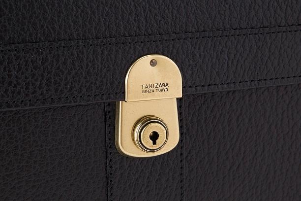 レザー バッグ 銀座タニザワ バッファローシリーズ ショルダーベルト付きフラップタイプ 39cm