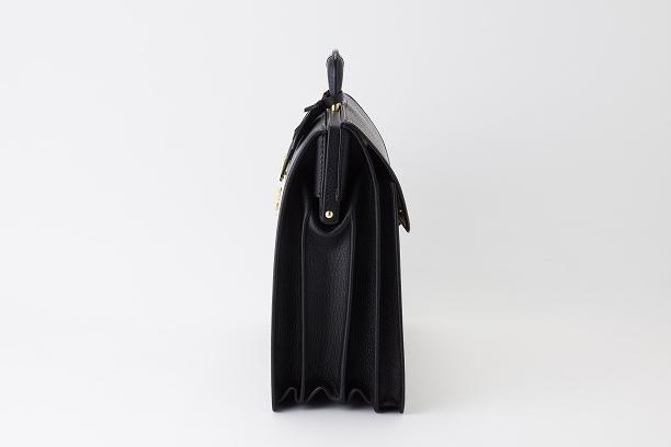レザー バッグ 銀座タニザワ ブル ダレスバッグ フラップ付 (大)