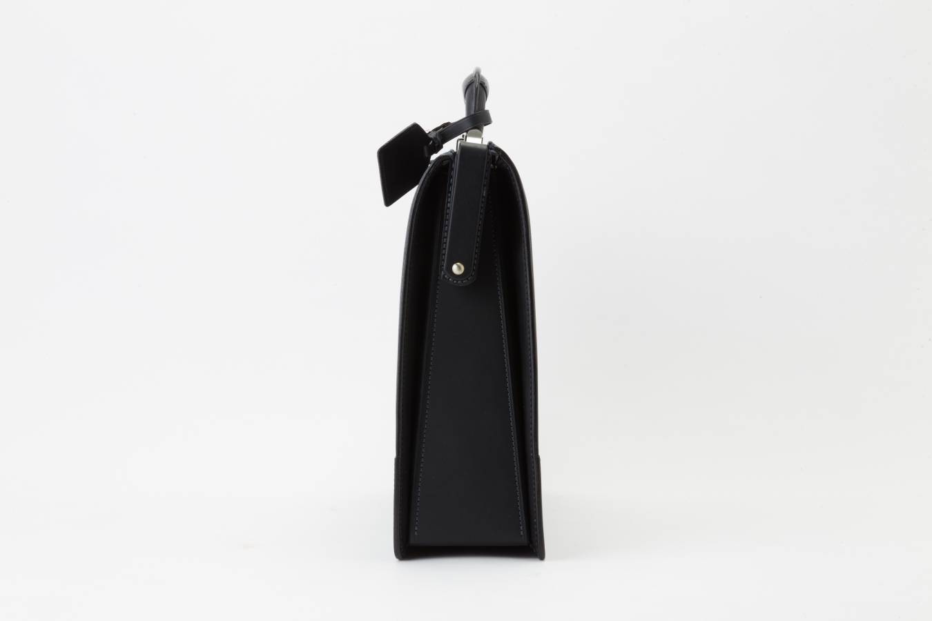 レザー バッグ 銀座タニザワ ロー引き 口枠錠 ダレス バッグ 大