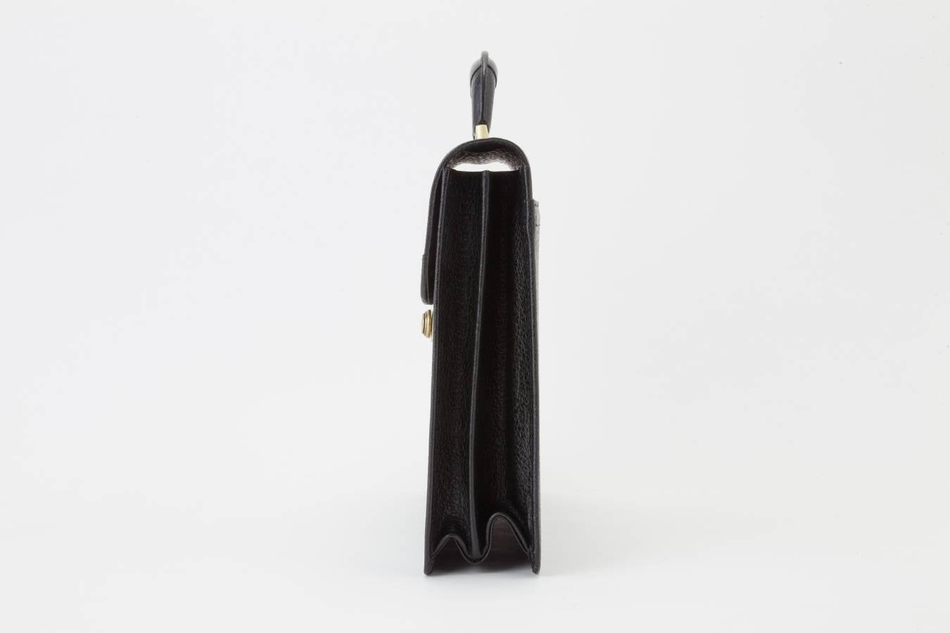 レザー バッグ 銀座タニザワ バッファローフラップタイプ 36cm