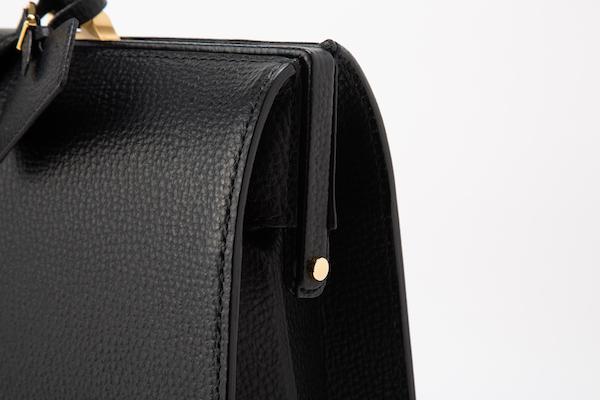 レザー バッグ 銀座タニザワ ブル  総手縫い ダレスバッグ