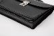 レザー バッグ 銀座タニザワ グレンライン フラップ ブリーフ 39cm (ブラック)