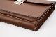 レザー バッグ 銀座タニザワ グレンライン フラップ ブリーフ 39cm (ブラウン)