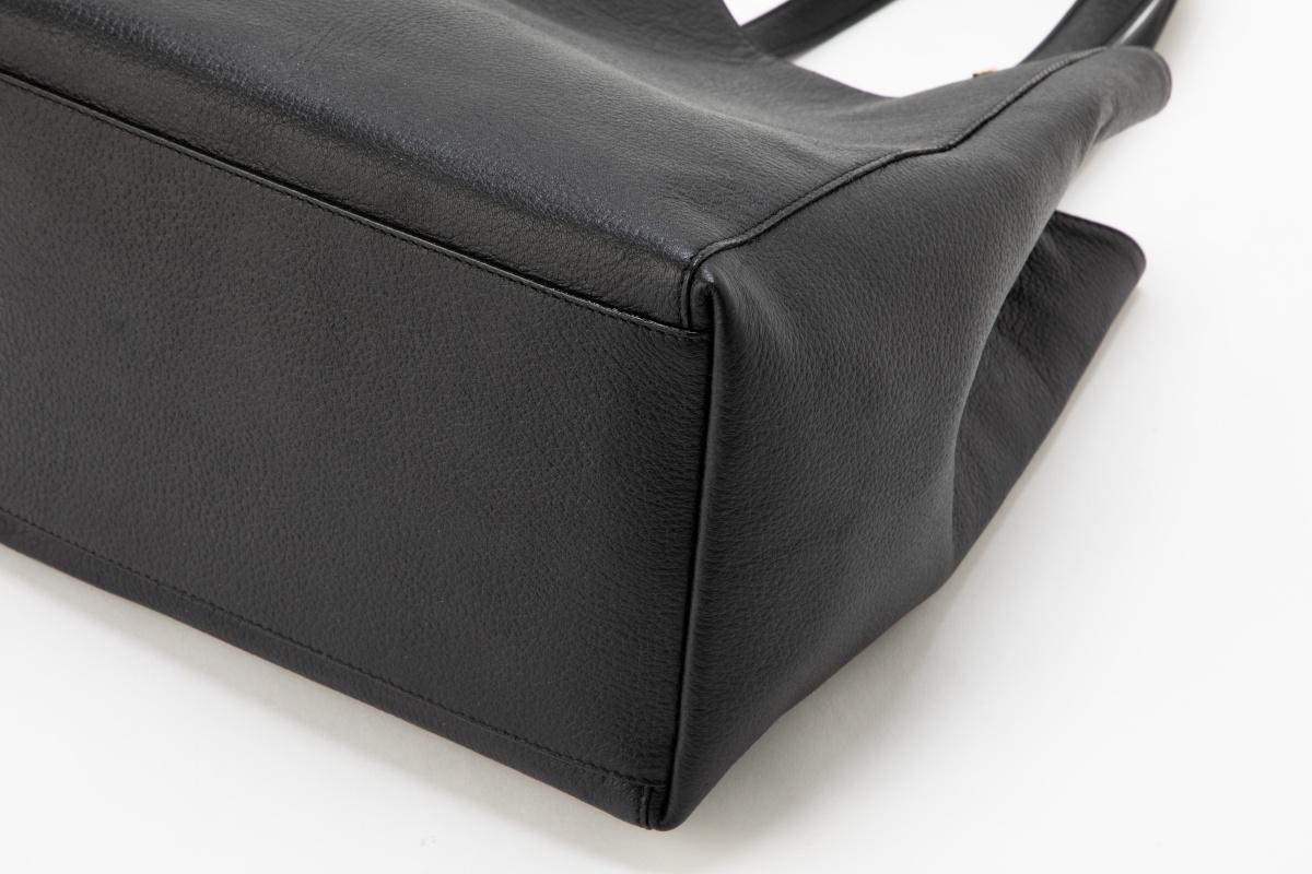 レザー バッグ 銀座タニザワ  2Wayトートバッグ   マーズシリーズ ブラック