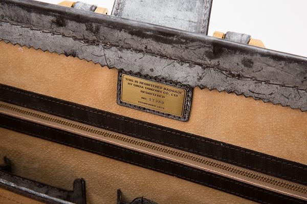 レザー バッグ 銀座タニザワ ブライドル ダレスバッグ