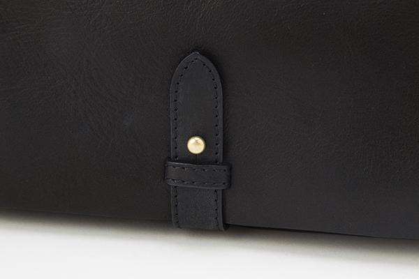 レディース レザー バッグ 銀座タニザワ エルフ ミニ ショルダー ブラック