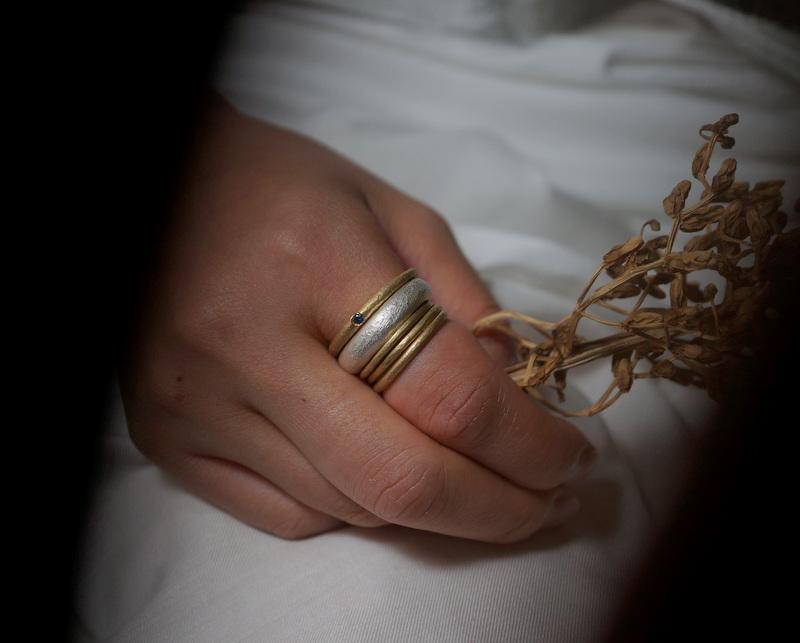 Kuraishi Takamichi / 「白布/銀の環」