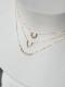 HAVITAS Granulation necklace curve K18YG