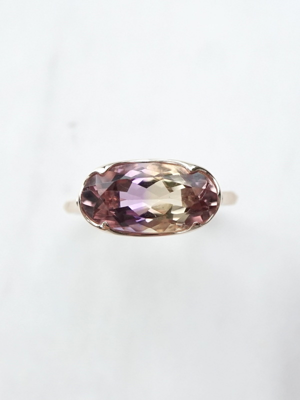 somon jewelryーAmetrin Ring K10 #13