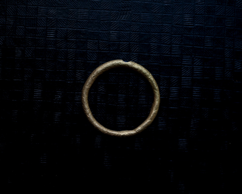 Kuraishi Takamichi /  K18YG×ブルーサファイア 「蒼の瞳」