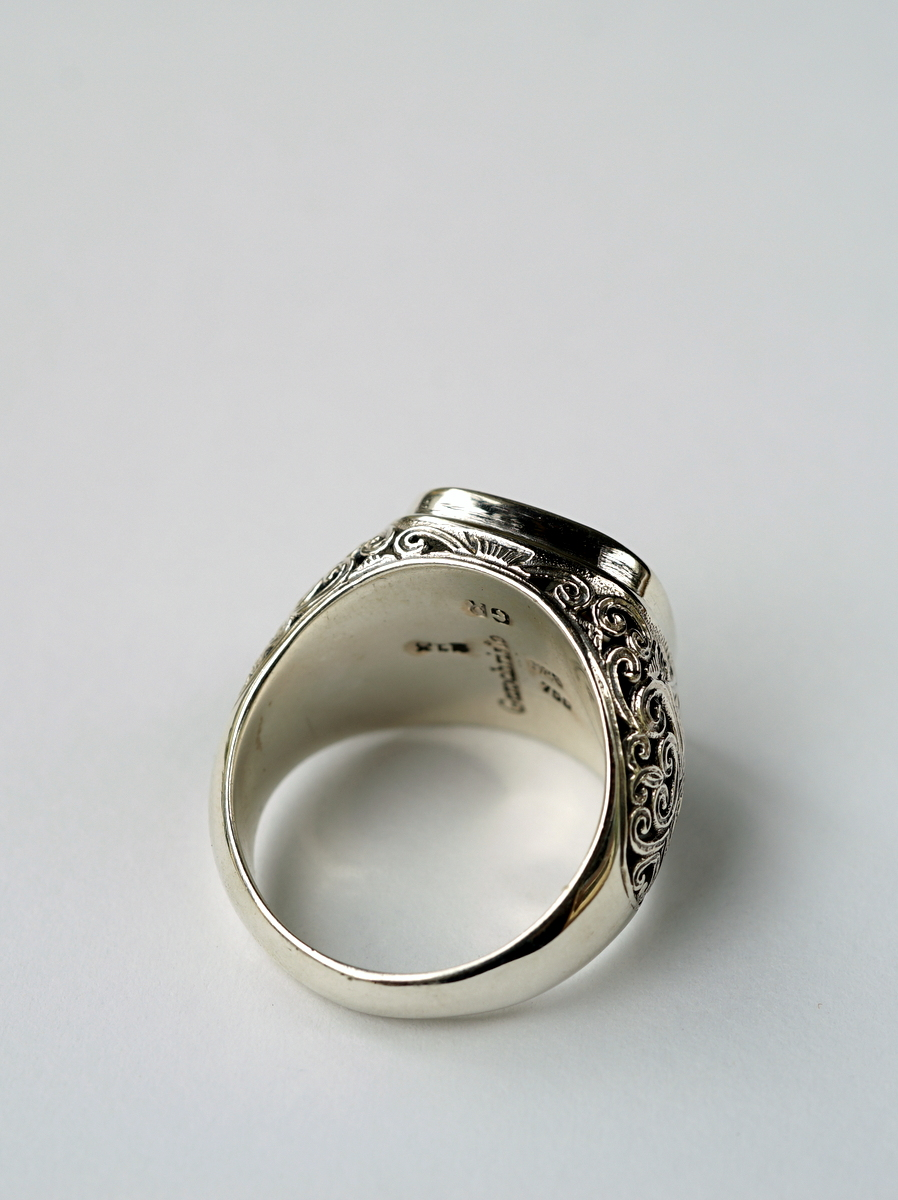 Gerochristo / Mediterranean Square Shape Ring