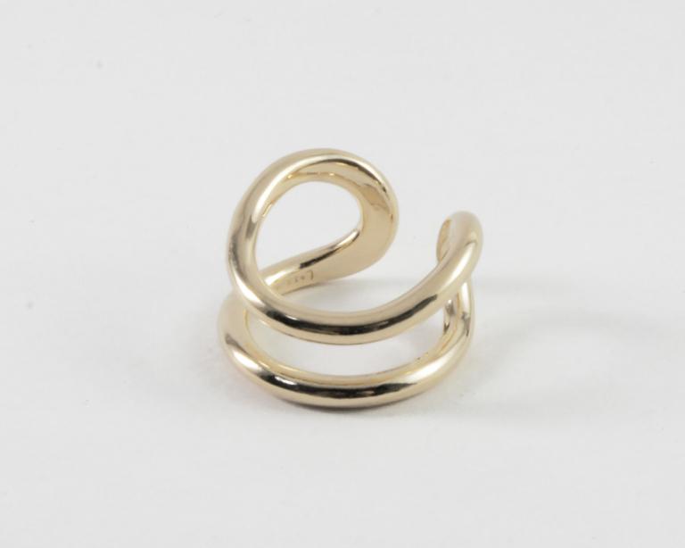 Losau /  Cuff ring (ゴールド/シルバー)