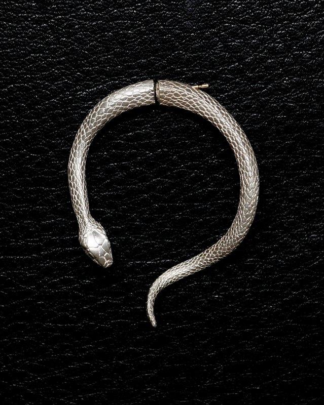 ELCAMI 蛇ピアス L シルバー (EPS-116S)