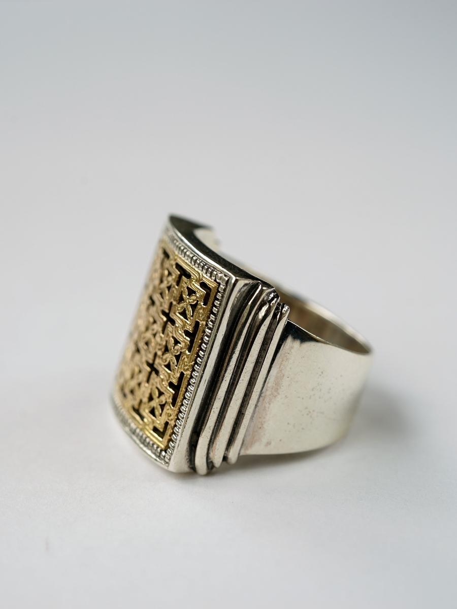 Gerochristo / Byzantine Ring