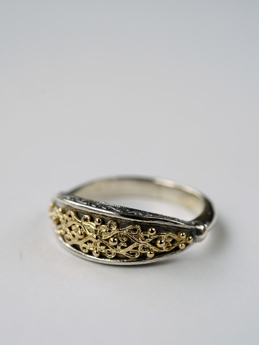 Gerochristo / Aretousa Ring