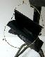 kagari yusuke / スキン がま口バッグ ブラック