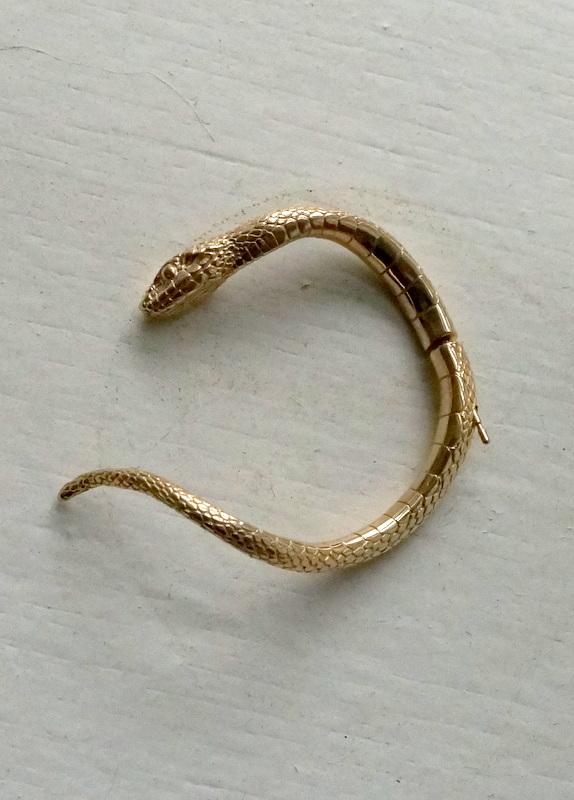 ELCAMI 蛇ピアス ゴールド (EPS-074G)