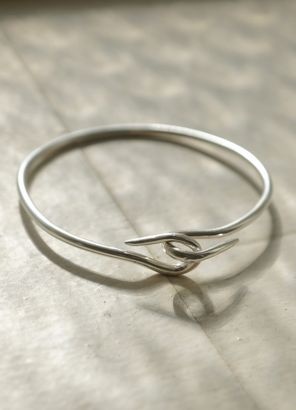 in her Hook bangle