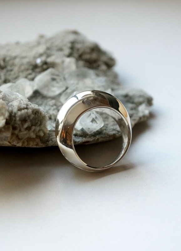 in her shell  ring