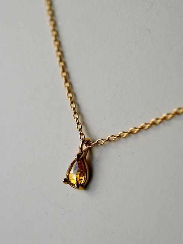 KANOE/Diamond Necklace