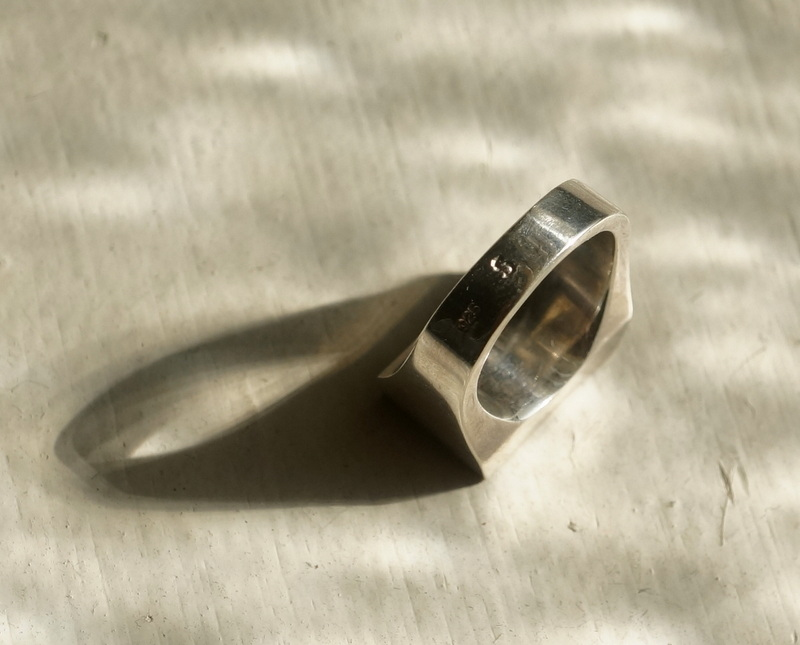 sussus. / horn square ring (H19201)