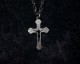 GIFTED / missing ネックレス - CROSS & MEDAL - (black)