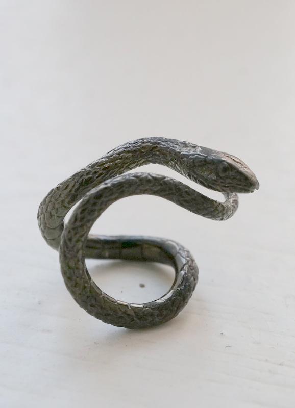 ELCAMI 蛇カフ ブラック (EE-098B)