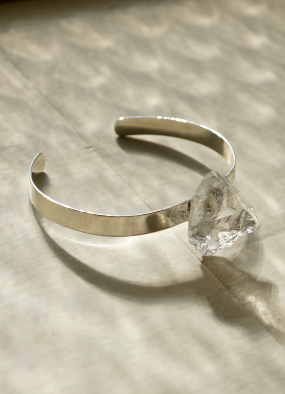in her  Ice bangle