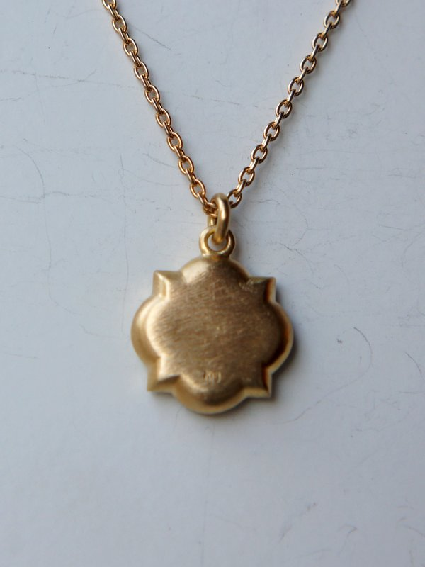 YES / Iron Plate Necklace  □ K18
