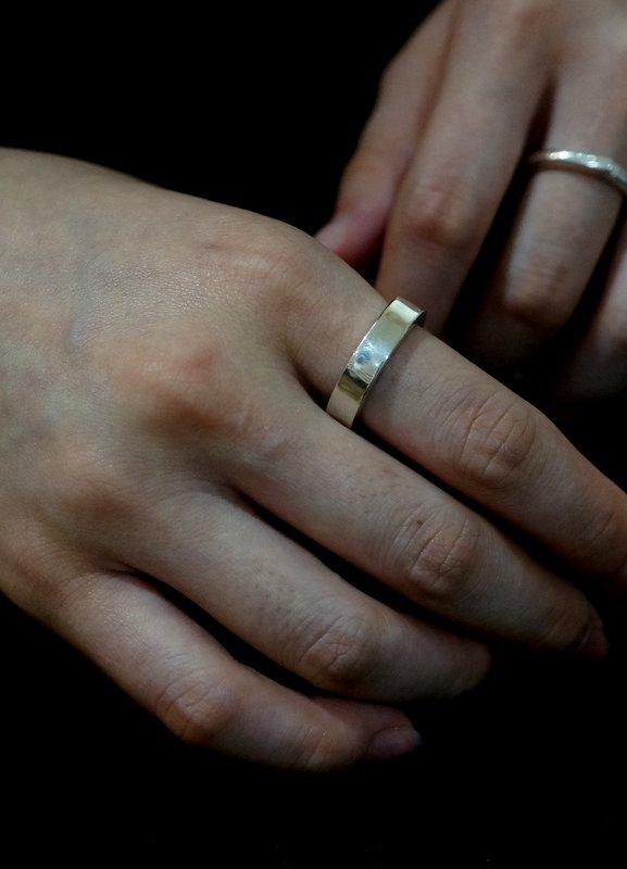 in her C ring