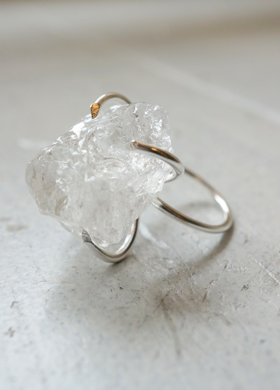 in her  Ice claw ring