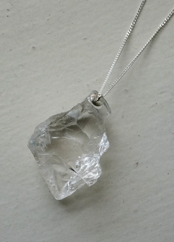 in her  Ice necklace (S)
