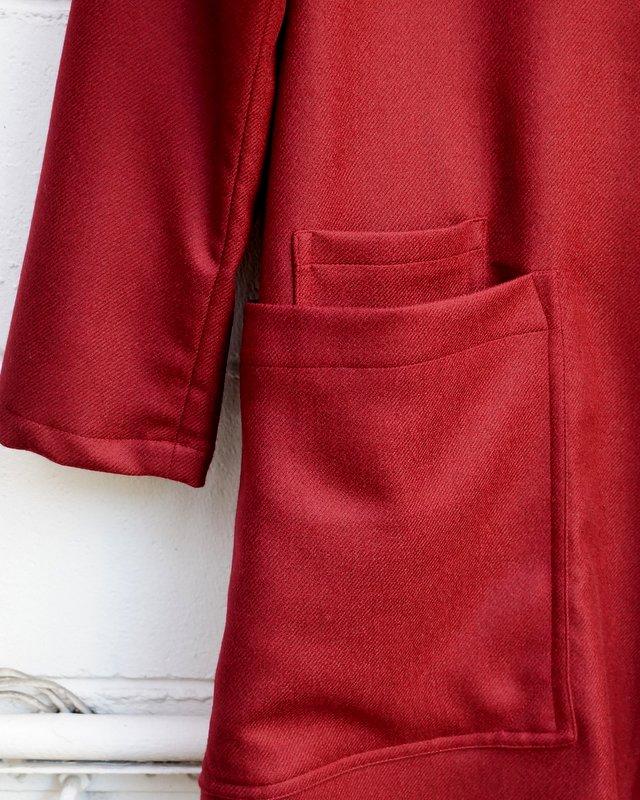 HATRA 作務衣BT(burgundy)