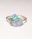 yuka ishikawa / 「beautiful memories ring」 アイオライト×フローライト×アパタイト