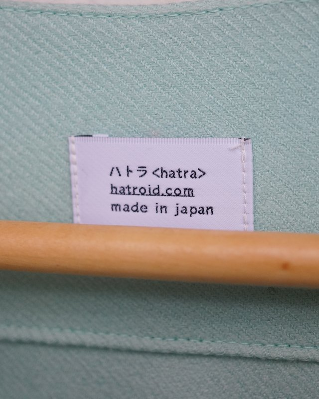 HATRA 作務衣BT(mint)