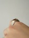 H.MASUZAKI / SMOKEY QUARTZ SIGNET RING K18&SV