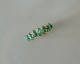 K18 oval emerald eternity ring/13号