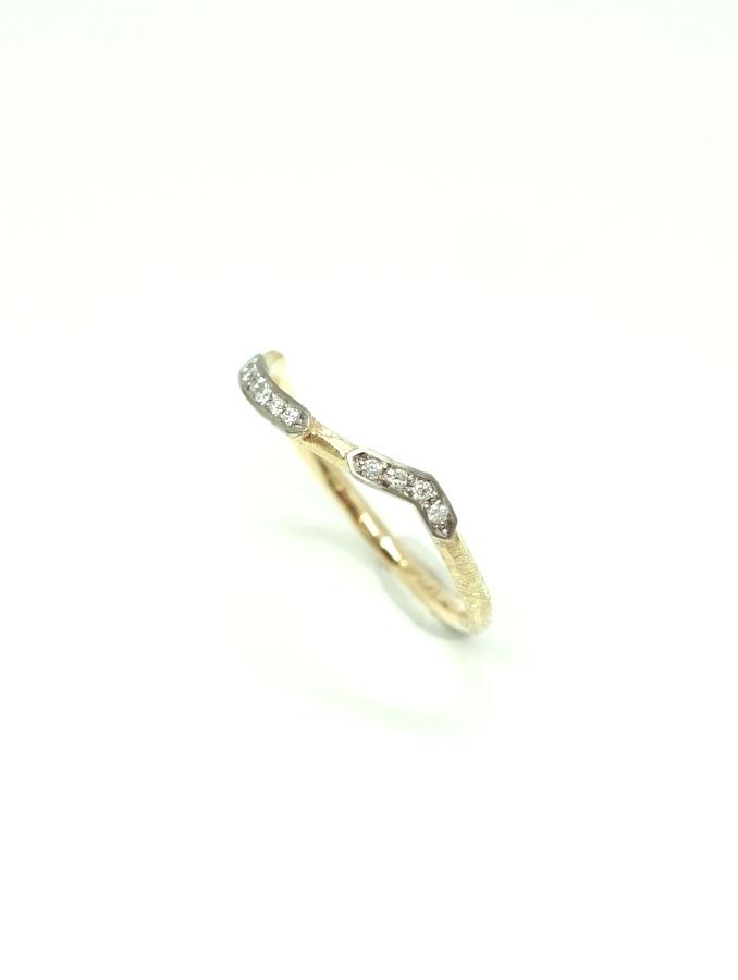 GICLAT ring 【G51R12K】 K18