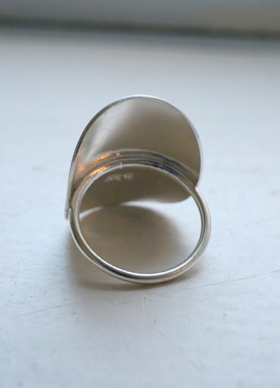 in her Curve ring