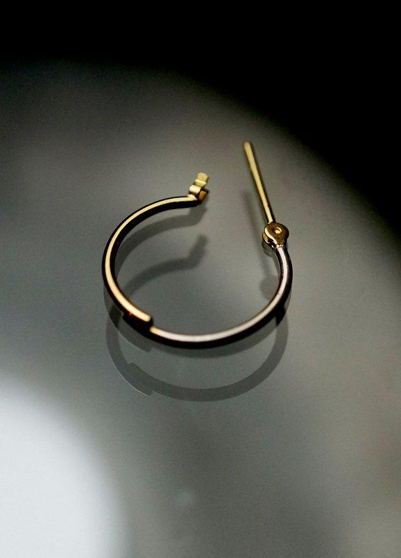 uM / PLY earrings C